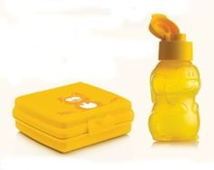 TUPPERWARE-Rabbit-Bunny-Flip-top-cap-Bottle-350ml-Sandwich-Box-Special-Offer