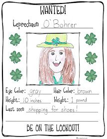 Classroom Freebies: Looking For Leprechauns