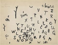 Paul Klee, Beginning of a Poem