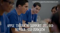 We at Apple Support are expert in solving issues related to devices. If you are facing any trouble with your Apple and looking for an expert help, you can call on our Apple Technical Support phone number +353-212063254 and we let you select the time and location of the tech support and offer them. Our aim is to achieve the high level of customer satisfaction at affordable prices. For more details visit our website: http://macbook.supportnumberireland.com