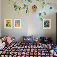 Children's room with mural | Modern decorating ideas | Homes & Gardens | Housetohome.co.uk