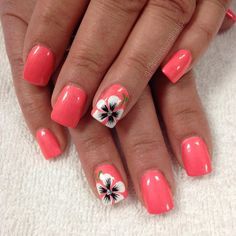 by joanne smart on nails in 2019 - -Pin by joanne smart on nails in 2019 - - 99 Vintage Summer Nail Art Ideas You Must Try Beach Nail Designs, Manicure Nail Designs, Fingernail Designs, Nail Designs Spring, Cute Nail Designs, Nail Manicure, Nails Design, Art Designs, Nail Polish