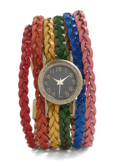 Haste the Rainbow Watch, #ModCloth