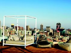 Urban living at its best, Braamfontein is fast becoming a creative hub Creative Hub, Outdoor Furniture, Outdoor Decor, Cities, Urban, Home Decor, Art, Art Background, Decoration Home