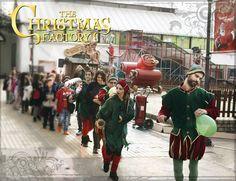Ο Δεκέμβριος, ο μήνας της οικογένειας και των γιορτών έφτασε! Στο The Christmas Factory ζούμε καθημερινά το πνεύμα των Χριστουγέννων. Θα είμαστε εδώ μέχρι τις 6 Ιανουαρίου 2015, μαζί με τα ξωτικά ζαβολιάρηδες που απογειώνουν το κέφι.   #XmasFactoryGR #TheChristmasFactory #Gkazi #Texnopolis #Xmas #Christmas #VisitGreece #Χριστούγεννα #ΑγιοςΒασίλης #CocaCola — at Τεχνόπολις Δήμου Αθηναίων.