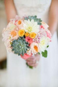 Bouquet de Noiva com Suculentas (6)