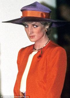 The hats that made Diana feel like a Princess | Daily Mail Online