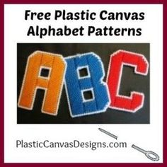 Each letter is 4 inches tall - just… - Free Plastic Canvas Alphabet Patterns. Each letter is 4 inches tall - just perfect for making banners! Plastic Canvas Letters, Plastic Canvas Crafts, Letter Patterns, Canvas Patterns, Embroidery Alphabet, Embroidery Patterns, Alphabet Magnets, Happy Halloween Banner, Canvas Designs
