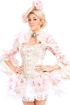 Veja mais informações de Fantasia Maria Antonieta super Luxo
