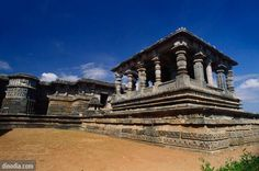 Hoysaleswara temple ; Halebid Halebidu ; Karnataka ; India