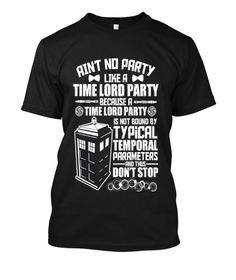 time lord party shirt - Google Search