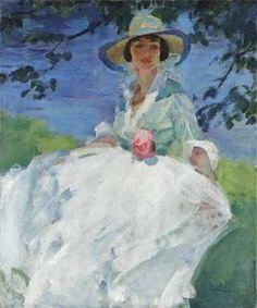 Martha Walter (American Impressionist, 1875–1976) Elizabeth Chapman