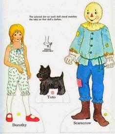 Feiticeiro de Oz- Paper doll - Sotão dos Peixinhos - Álbumes web de Picasa