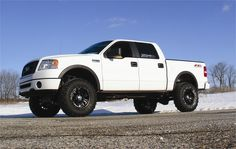 Ford lifted F-150 truck
