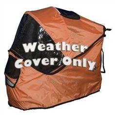 Special Edition Stroller/Jogger Weather Cover - Mango