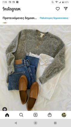 Grey Blouse, Moccasins, Flats, Shoes, Fashion, Penny Loafers, Loafers & Slip Ons, Moda, Loafers