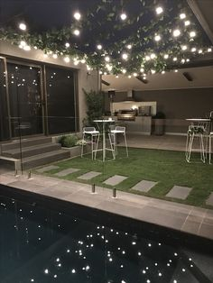 Pools outdoor lighting goudie electrical services garden party