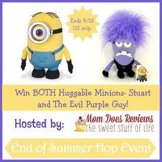 minion button end of summer hop 2