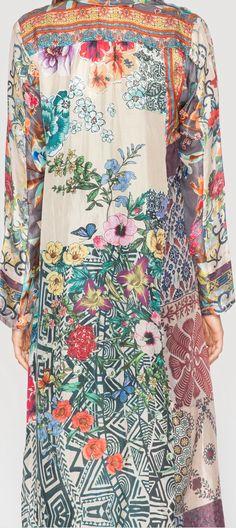 Jonny Was_MIX PRINT MAXI DRESS_3_ http://www.johnnywas.com/new-arrivals/mix-print-maxi-dress.html