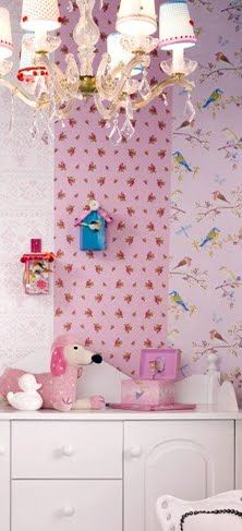 Wall Paper Pip Studio: cute inspiration for little girls room