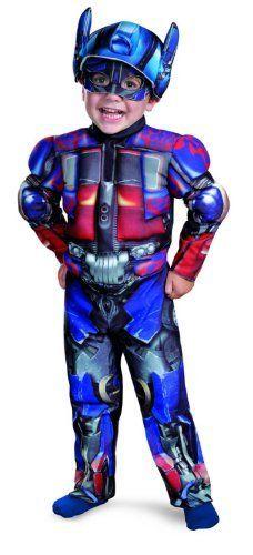 Transformers 3 Optimus Prime Toddler Costume