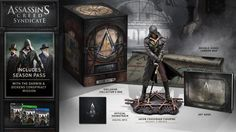 Assassin's Creed Syndicate Collector's Edition and Life-Size Props Revealed - http://www.entertainmentbuddha.com/assassins-creed-syndicate-collectors-edition-and-life-size-props-revealed/