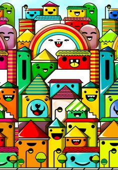 Chocovenezolano by ChocoToy , via Behance