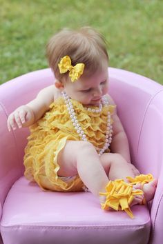 Baby Barefoot Bling Fancy Flops