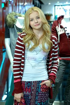 Chloe Grace Moretz:The cutest thing ever will only get cuter as she gets older! <3<3
