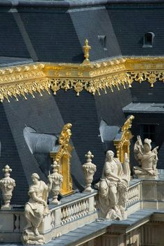 Palace of Versailles, Versailles, France.