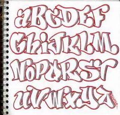 ALPHABET GRAFFITI : LETTERS