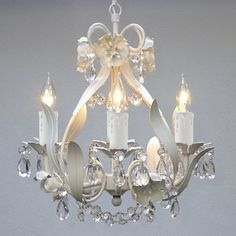 Lighting, This Elegant Mini Crystal Chandelier Adds Vintage Charm. The Fixture Has 4 Lights & Crystals Making This Antique Looking Ceiling Lamp a Stunning Addition. Bathrooms, Master Bedroom  http://www.amazon.com/dp/B00J76JORS/ref=cm_sw_r_pi_dp_nhnEub0QMW3X3   140.00