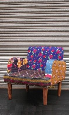 a pretty chair for eclectic style decor!~
