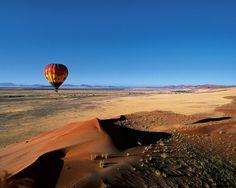 #namibia #hot air balloon #wilderness