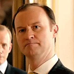 "THAT FACE! Mycroft is past being done and is treading into ""I'm going to murder my little brother in Buckingham Palace and bury him under the dungeons"""
