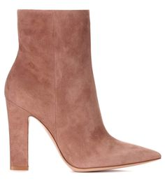 Daryl blush suede ankle boots