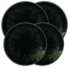 Range Kleen 5056 Embossed Burner Kover, Black, Set of 4 -- Be sure to check out this awesome product.