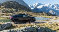 #MBsocialcar: The Mercedes-AMG GLE 63 S 4MATIC Coupé in the Swiss Alps.