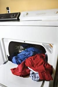 Mold in the dryer can make clean clothes smell moldy.