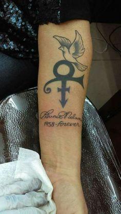 Love Symbol Tattoos, Symbolic Tattoos, I Tattoo, Tattoo Quotes, Tatoos, Geek Tattoos, Paisley Tattoos, Tribute Tattoos, Prince Tattoos