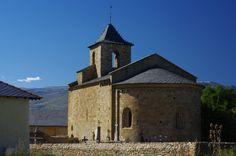 Église Saint-Martin d'Hix -XIIe s.- (hameau de Bourg-Madame)