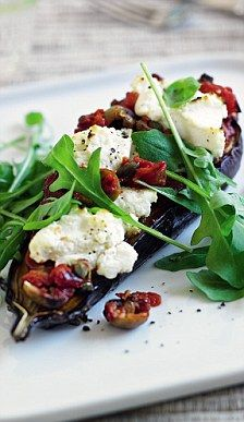 Italian baked aubergine, from Clean & Lean Diet Cookbook by James Duigan