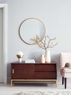 Modern sideboard and