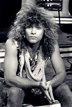 It wouldn't be the 80's without Jon Bon Jovi