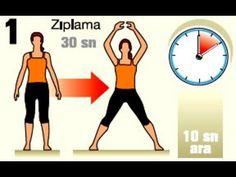 """Evde zayıflama hareketleri ile ilgili oluşturulmuş bu videoda """"zayıflama"""" konusu başta olmak üzere kilo vermek için vermeniz gereken kilolar için hazırlanmış egzersiz hareketleri bulunmakta. Oldukça yararlı bir zayıflama videosu olduğunu düşünüyorum."""
