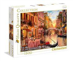 PUZZLE DE VENECIA ITALIA ( Ref:  0000031668 ) 1500 piezas - Marca Clementoni - Aprovecha la oferta ne puzzles Clementoni, el 2º puzzle a 1€ en Puzzlemania.net hasta el 5 de junio de 2017.