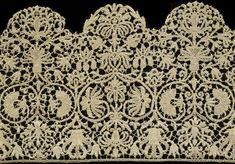 Lace borders | V&A Search the Collections
