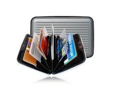 Alüminyum Kredi Kartlık Cüzdan :: avmiso