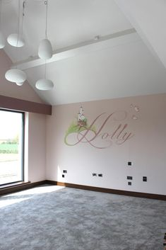 Cheshire wall mural artists, One Red Shoe. Children's bedroom murals, interior design murals for modern interiors, contact for free quote and more info. Designed in our studio - painted on your wall! Girls Bedroom Mural, Bedroom Murals, Bedroom Wall, Childrens Wall Murals, Soft Colors, Colours, Hand Painted Walls, Bespoke Design, Mural Painting