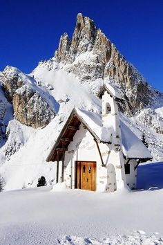 mountain church.--ITALIA- b